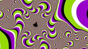 30 оптических иллюзий - движущиеся картинки