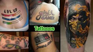 Геймеры с татуировками своих любимых игр