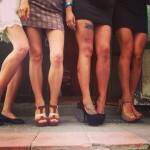 Пятничные женские ножки