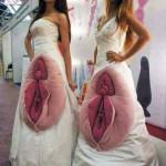 Безумные свадебные платья (14 фото)