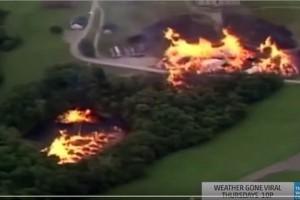 Торнадо из виски в Кентукки - 3 млн литров!