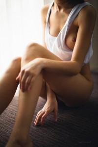 Девушка, ноги, грудь